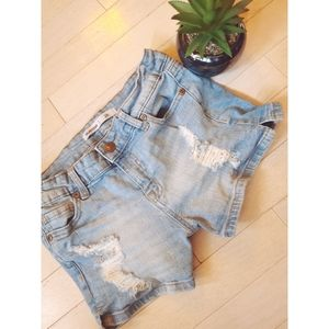 Bluenotes | Distressed Jean Short